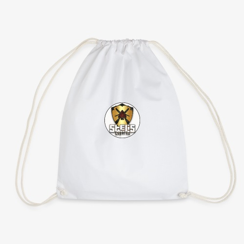 STELIS LOGO ROUND GOLD - Drawstring Bag