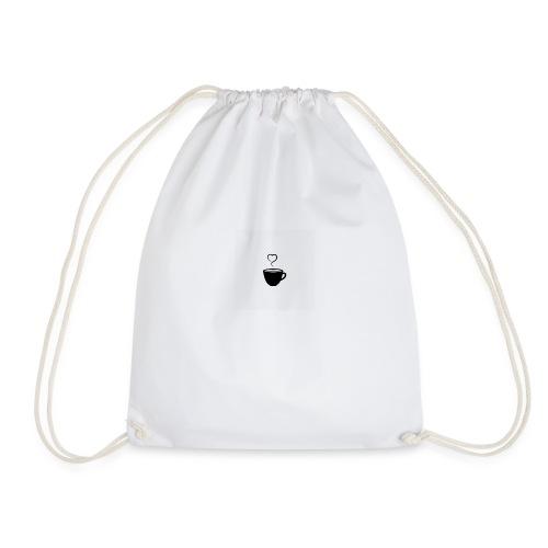 Love Tea Print - Drawstring Bag