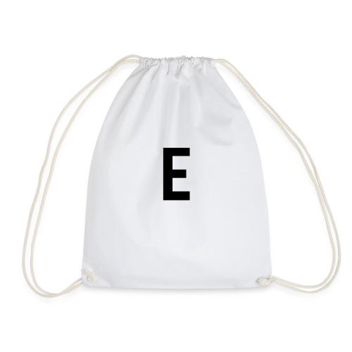 letter e 512 png - Drawstring Bag