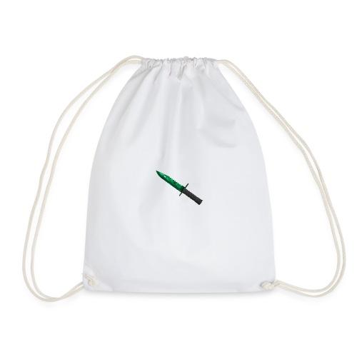 Emerald M9 Bayonet - Drawstring Bag