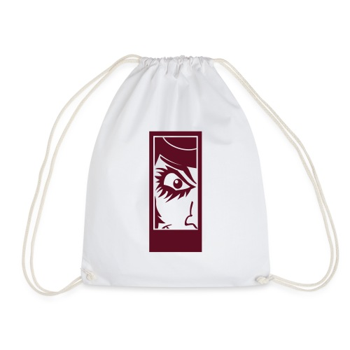 Clockwork eye - Drawstring Bag
