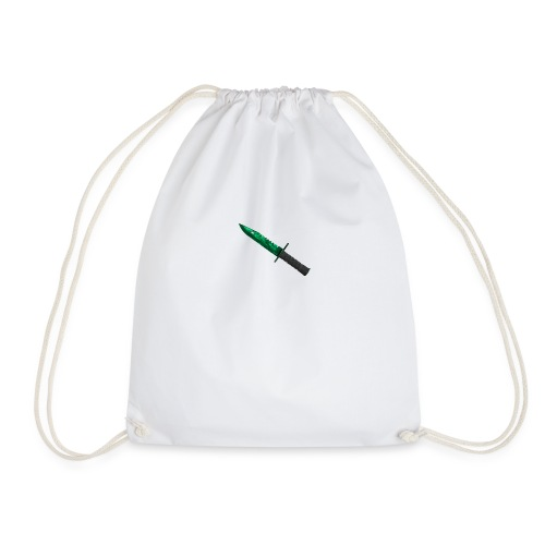 Emerald M9 Bayonet - Drawstring Bag