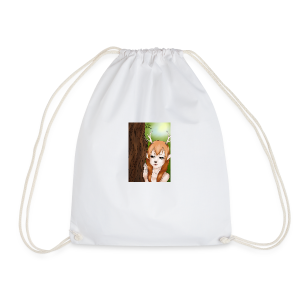 Sam sung s6:Deer-girl design by Tina Ditte - Drawstring Bag
