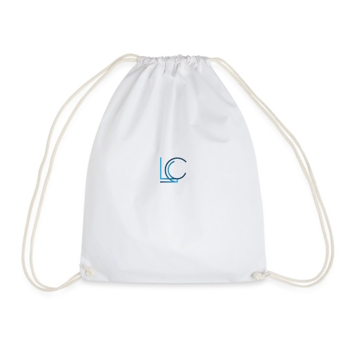 L C logo design bags - Drawstring Bag