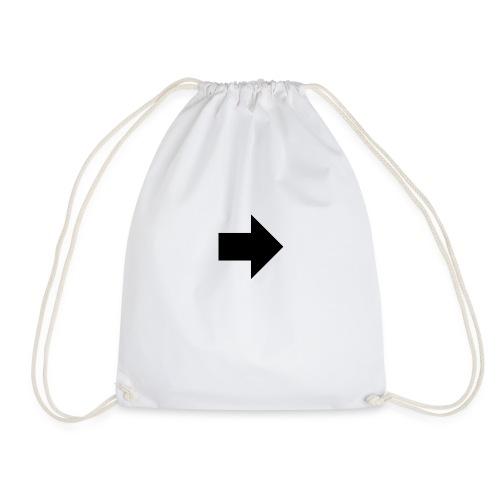 if arrow full right 103295 - Drawstring Bag