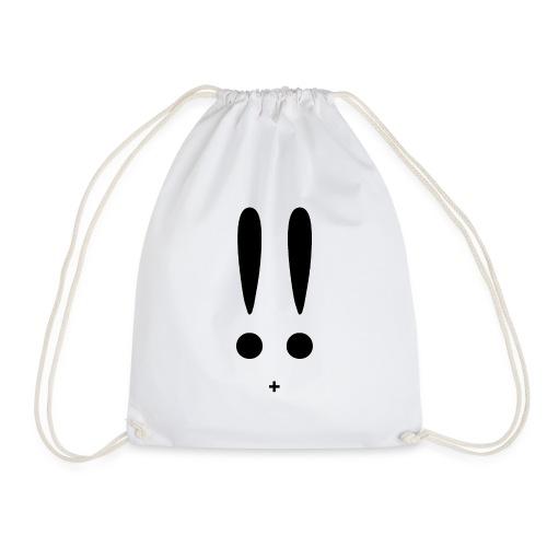ASCII Bunny - Drawstring Bag