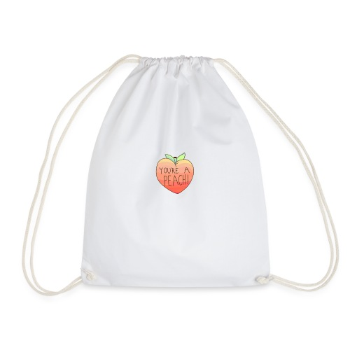 YOURE A PEACH ! - Drawstring Bag