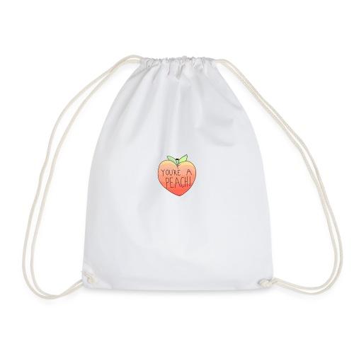 YOURE A PEACH ! - Drawstring Bag