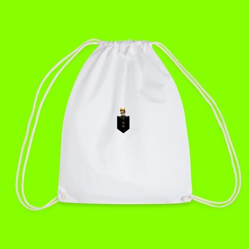 T-Shirt De Cor Dupla c/ Bolso - Drawstring Bag