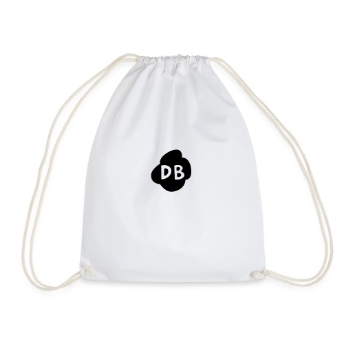 DangleBerry LogoBLACK png - Drawstring Bag