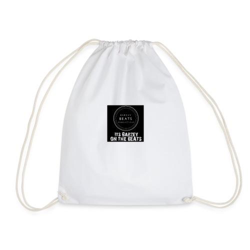 Its Barzey on the beats - Drawstring Bag