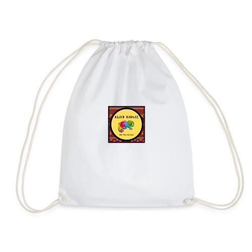 Bk Colourful Chameleon - Drawstring Bag