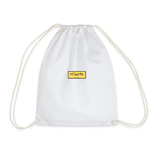 N South logo amarillo - Mochila saco