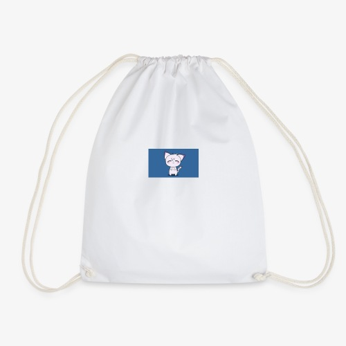 Happy Cat - Drawstring Bag
