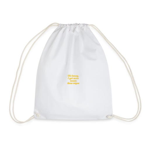 Oh honey. - Drawstring Bag
