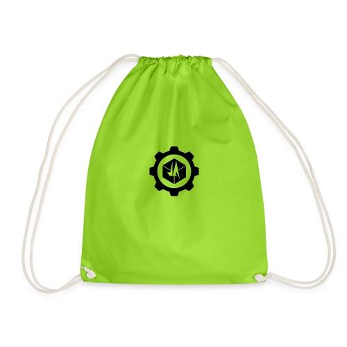 Jebus Adventures Logo (Transparent) - Drawstring Bag