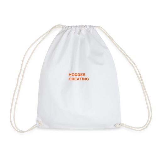 Hodder Creating Orange - Drawstring Bag
