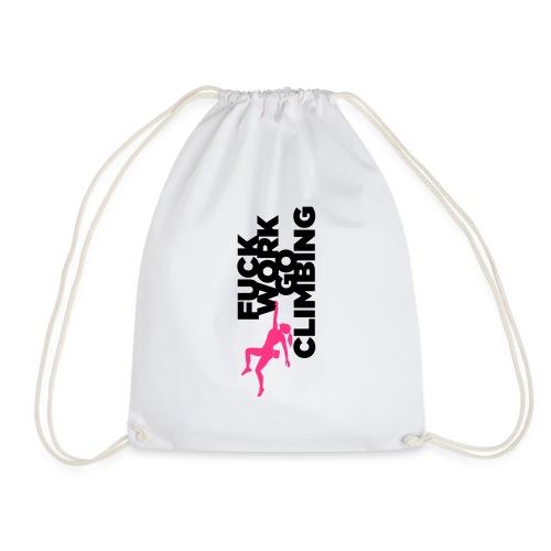 Go Climbing girl! - Drawstring Bag