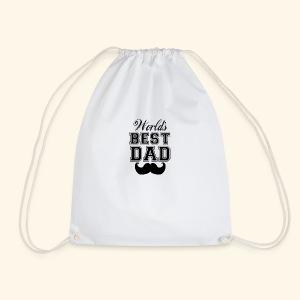 Worlds best dad - Sportstaske