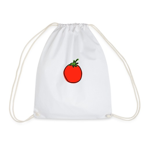 Cartoon Tomato - Drawstring Bag