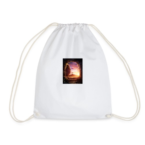 He is rising - Drawstring Bag