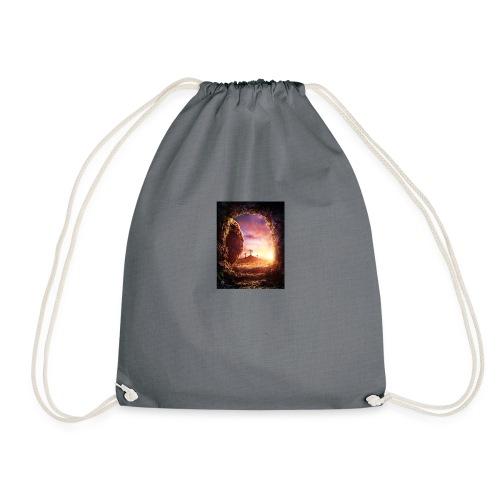 He is rising - Drawstring Bag