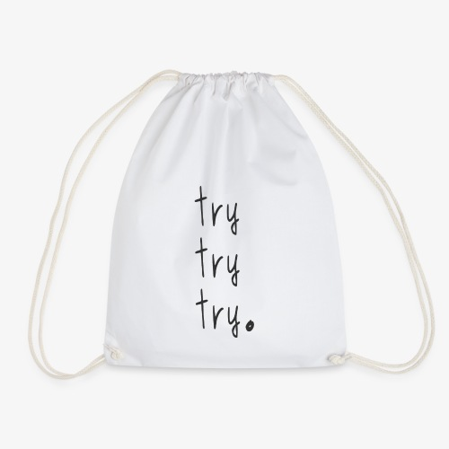 try - Drawstring Bag