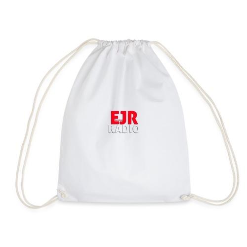 EJR_Words_Logo - Drawstring Bag