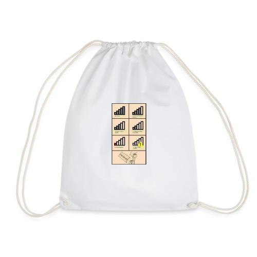 Bad connection - Drawstring Bag