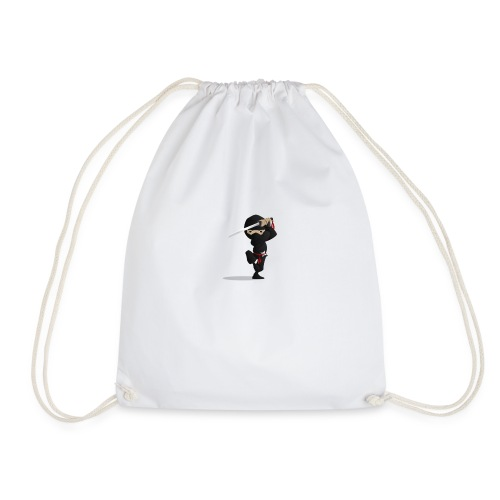 Ninja-PNG - Drawstring Bag