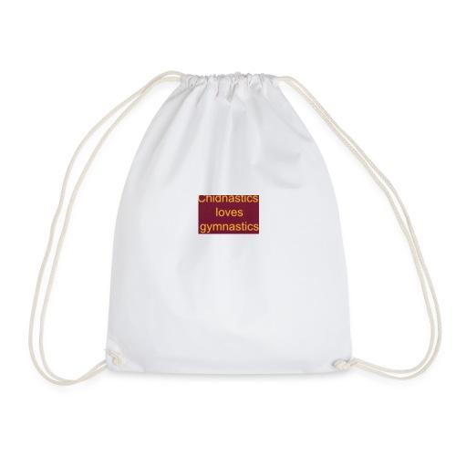 chidnastics loves gymnastics😊😊😊😊😊😊😊😊😊😊😊 - Drawstring Bag