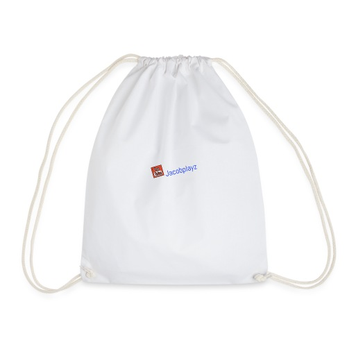 Jacobplayz logo - Drawstring Bag