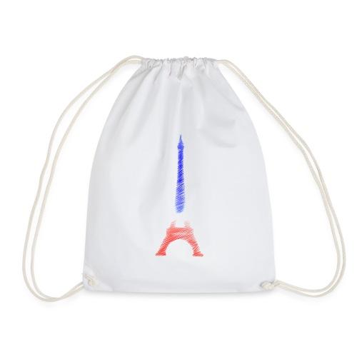 Tour Eiffel Bleu Blanc Rouge Tricolore Paris - Sac de sport léger
