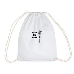 Open Mic Night - Drawstring Bag