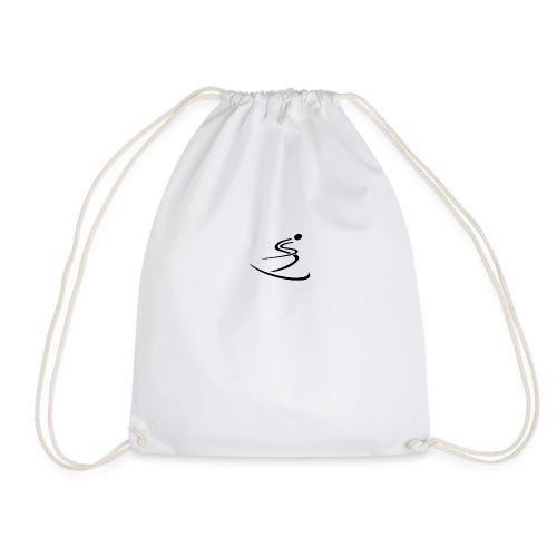 Skier - Drawstring Bag