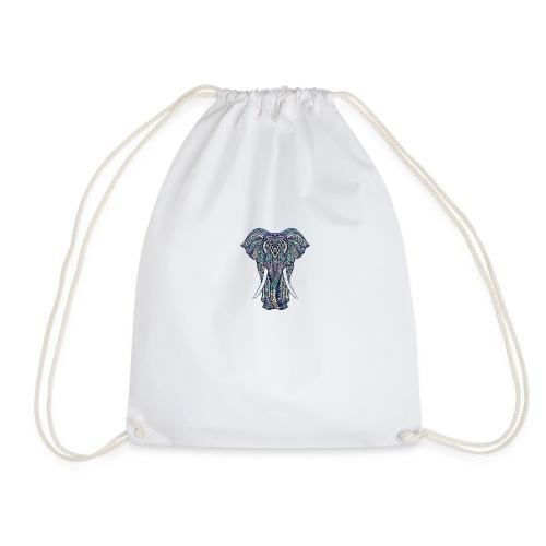 éléphant multicolore - Sac de sport léger