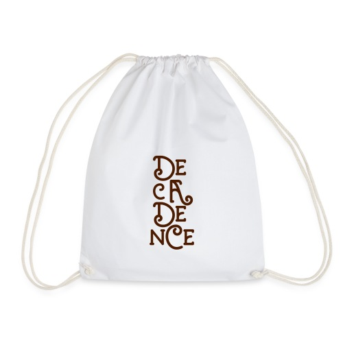 Club Decadence - Athens Greece - Drawstring Bag