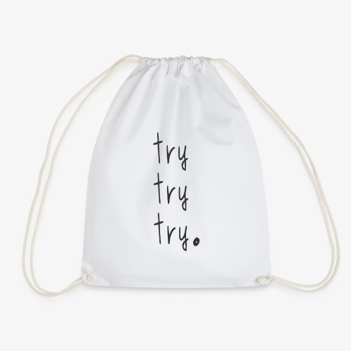 try - Drawstring Bag