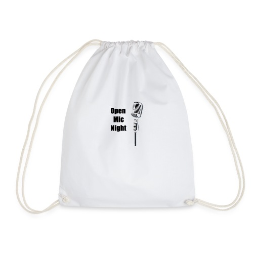 Open Mic Night - Drawstring Bag