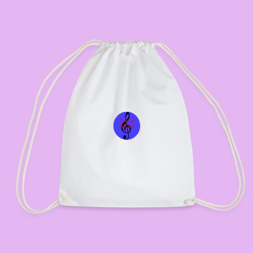 Trusical Record Logo - Drawstring Bag