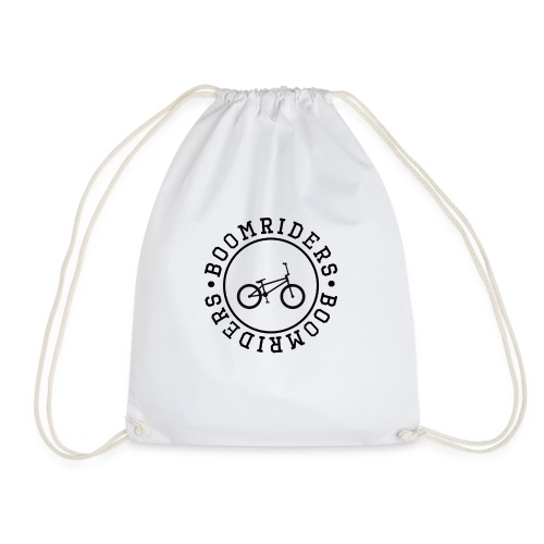 BOOM BIKE LOGO - Drawstring Bag
