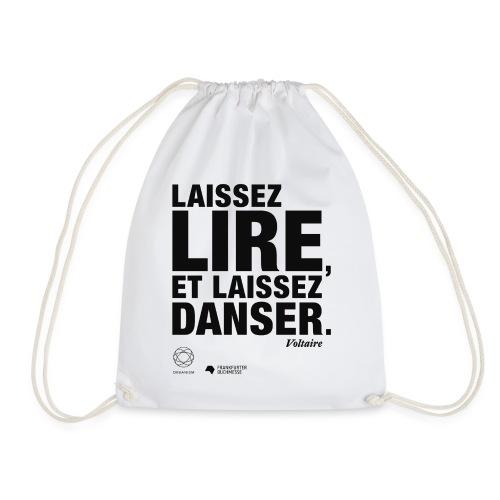 LAISSEZ LIRE   Bookish Merch - Turnbeutel