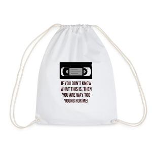 Retro VHS - Drawstring Bag