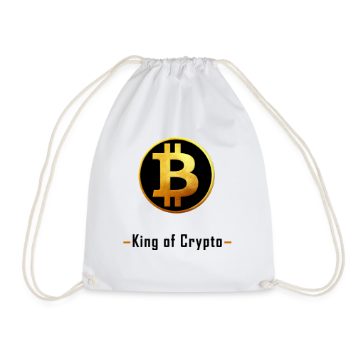 Bitcoin - King of Crypto T-Shirt by Blockawear - Turnbeutel
