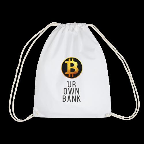 Bitcoin - B UR OWN BANK - T-Shirt by Blockawear - Turnbeutel