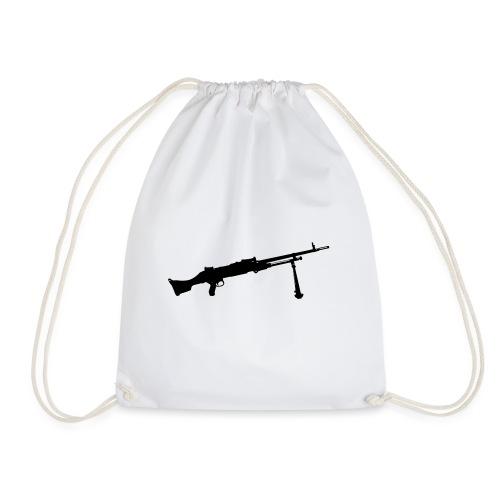 Machine Gun - Kulspruta 58B - FN MAG M240 - Gymnastikpåse