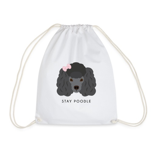 Poodle Black - Sacca sportiva