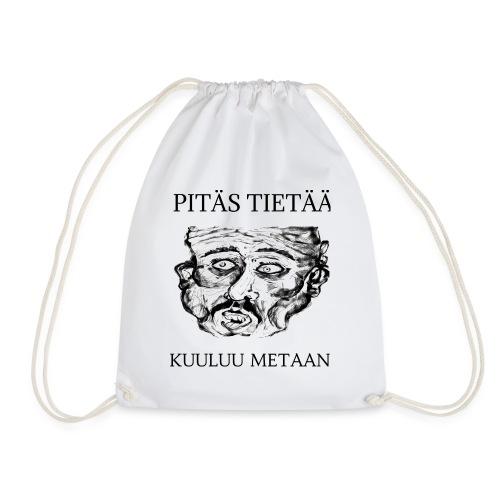 Meta: orgrinRT (on a light background) - Drawstring Bag