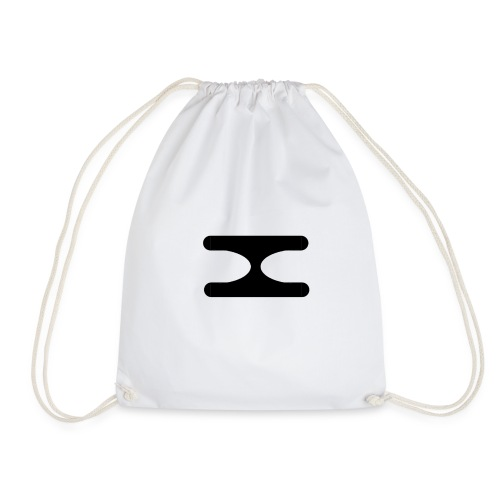 X Logo Transparent - Drawstring Bag