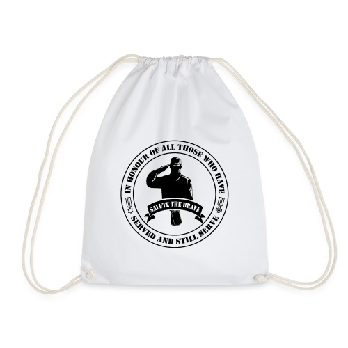 German Military Veteran - Drawstring Bag